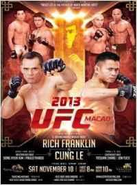UFC無限製格鬥 2013