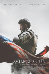 美国狙击手高清海报